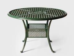 Tavolo da giardino rotondo in alluminioBYZANTIUM   Tavolo - MOYER CONTINENTAL