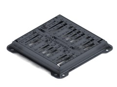 LINK industries, C250 GRIGLIA PIANA Griglia piana smartlock con telaio in ghisa sferoidale