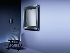 Specchio in vetro con cornice da pareteCAADRE | Specchio da parete - FIAM ITALIA