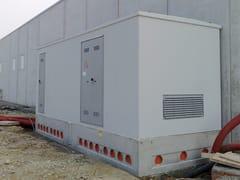 Betoncablo, Cabina elettrica monoblocco Cabina elettrica