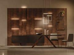 Boiserie in metallo con illuminazione integrataCADDY LIGHT - APP DESIGN