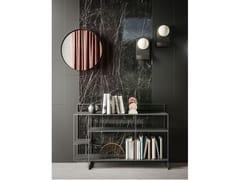 Boiserie in ceramica, legno, specchio e metalloCADDY MATERIKA - APP DESIGN