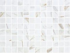 ONIX®, CALACATTA GOLD MATTE Mosaico in vetro per interni ed esterni