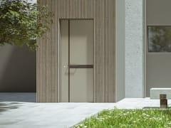 Porta d'ingresso a filo muro blindataCALASCIO - SCRIGNO
