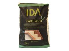 Malta ecologica per incollaggio e rasaturaCALCE RC-08 - IDA