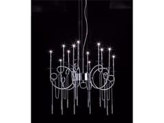 Lampada a sospensione a LED in acciaio CALLIGRAFICO NITY 12C | Lampada a sospensione a LED - Calligrafico