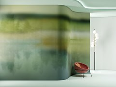 Carta da parati stampata in digitale in vinile CALM - COLLECTION IX Creative Wallcoverings