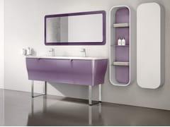 Mobile lavabo doppio con specchioCALYPSO 11 - BMT