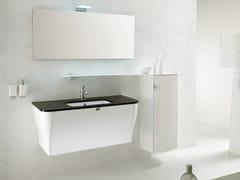 Mobile lavabo sospeso con specchioCALYPSO 12 - BMT