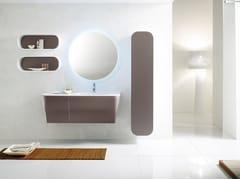 Mobile lavabo sospeso con specchioCALYPSO 17 - BMT