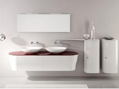 Mobile lavabo doppio con specchioCALYPSO 18 - BMT
