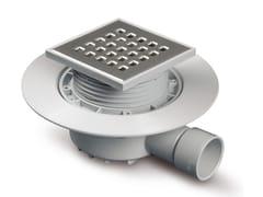 Chiusino sifonato con griglia inox per doccia a pavimento100CAMALEON NI13802 - REDI