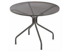 Tavolo da giardino rotondo in acciaio CAMBI | Tavolo rotondo - Cambi
