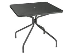 Tavolo da giardino quadrato in acciaio CAMBI | Tavolo quadrato - Cambi