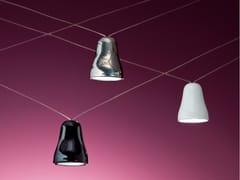 Lampada a sospensione a LED a luce diretta in cottoCAMPANELLA - ALBUM ITALIA