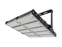 Proiettore per esterno a LED orientabile in alluminioCAMPO 1200 - NEXO LUCE