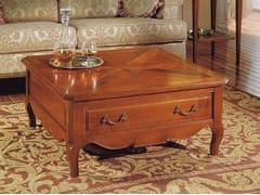 Tavolino quadrato in ciliegio CANALETTO | Tavolino basso - Canaletto
