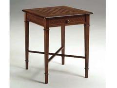 Tavolo da scacchi quadrato in legno masselloCANALETTO | Tavolo da scacchi - ARVESTYLE