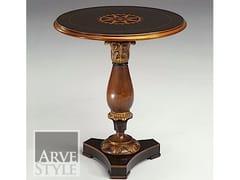 Tavolino rotondo in legno massello CANALETTO | Tavolino - Canaletto