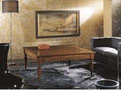 Tavolino quadrato in legno massello CANALETTO | Tavolino quadrato - Canaletto
