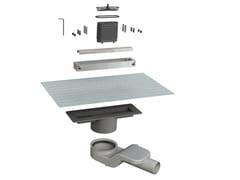 Scarico per doccia in acciaio inoxCANALISSIMA 6825HC20S - BONOMINI