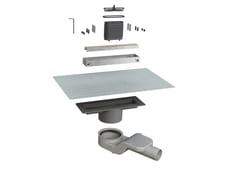 Scarico per doccia in alluminioCANALISSIMA 6825HL20S - BONOMINI