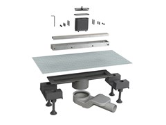 Scarico per doccia in alluminioCANALISSIMA 6825HL30S - BONOMINI