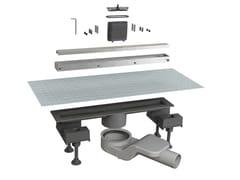 Scarico per doccia in alluminioCANALISSIMA 6825HL40S - BONOMINI