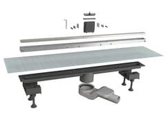 Scarico per doccia in alluminioCANALISSIMA 6825HL80S - BONOMINI