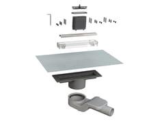 Scarico per doccia in acciaio inoxCANALISSIMA 6825HX20S - BONOMINI