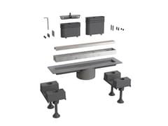 Scarico per doccia in alluminioCANALISSIMA 6895AL30S - BONOMINI