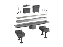 Scarico per doccia in alluminioCANALISSIMA 6895AL40S - BONOMINI