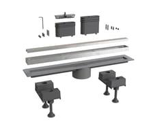 Scarico per doccia in alluminioCANALISSIMA 6895AL50S - BONOMINI