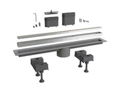 Scarico per doccia in alluminioCANALISSIMA 6895AL60S - BONOMINI