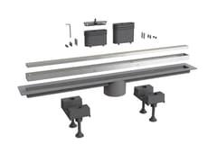 Scarico per doccia in alluminioCANALISSIMA 6895AL70S - BONOMINI