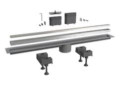 Scarico per doccia in alluminioCANALISSIMA 6895AL80S - BONOMINI
