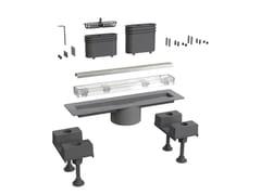 Scarico per doccia in acciaio inoxCANALISSIMA 6895MX30S - BONOMINI