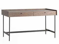 Scrivania rettangolare in acciaio e legnoCANELLI | Scrivania - ZEGEN