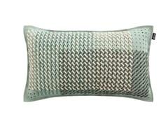 Cuscino rettangolare in tessuto CANEVAS GEO GREEN | Cuscino rettangolare - Canevas Geo
