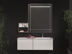 Mobile lavabo sospeso con specchioCANNAREGIO - NOVELLO