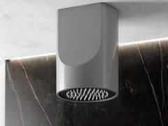 Soffione doccia a soffitto rotondo in materiale compositoCANYON FLOW - RELAX DESIGN