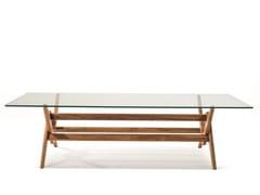 Tavolo in legno e vetro056 CAPITOL COMPLEX TABLE - CASSINA