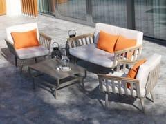 MOBIKA GARDEN, CAPRAIA Lounge set da giardino in iroko