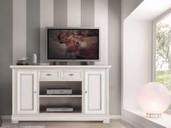 Mobile TV in legno massello con cassettiCAPRI | Mobile TV - ARVESTYLE