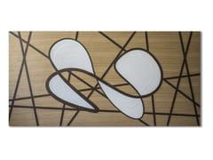 Quadro in legno intarsiato con bassorilievo CAPRICCIO INFINITY - CAPRICCIO