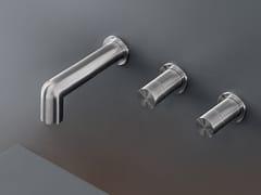 Gruppo di 2 rubinetti apri/chiudi a parete CAR 30 - CARTESIO