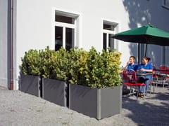 SWISSPEARL Italia, CARAT Fioriera per spazi pubblici bassa in cemento