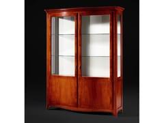Vetrina in legno e vetroCARENNAC - FABER MOBILI