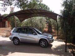 GH LAZZERINI, Carport 3 Pensilina in ferro battuto per posto auto