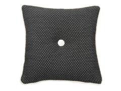 Cuscino quadrato in cotone a motivi geometriciCARRÈ 565-19 - L'OPIFICIO